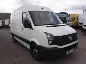VOLKSWAGEN CRAFTER CR35 TDI MWB HIGH ROOF, White, Manual, Diesel, 2013