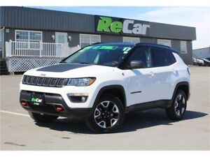 2017 Jeep Compass Trailhawk REDUCED | 4X4 | NAV | SAVE $10,38...