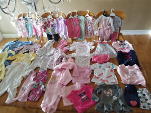 6-9 months girls clothing