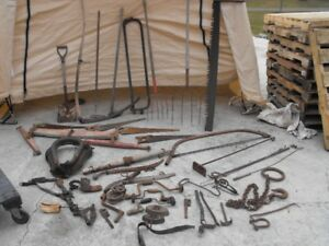 $100 for all,, Antique Tools, Farm decor, 1901
