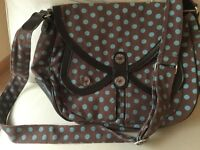 Ted Baker Canvas Spotty Shoulder Bag