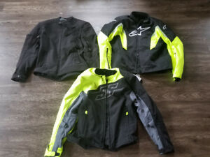 Motorcycle jackets Joe Rocket Alpinestars large xl