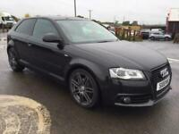 2009 Audi A3 2.0 TDI Black Edition 3dr HATCHBACK Diesel Manual