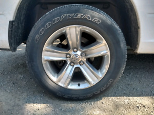 """Ram 20"""" sport rims with tires"""