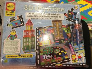 ALEX 3D CITYSCAPE PRESCHOOL PUZZLE BRAND NEW