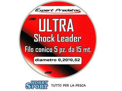 FILO SUFIX ZIPPY 30 LB mm 0,50 METRI 100  SHOCK LEADER X SURFCASTING MARE