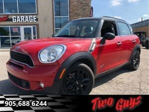 2014 Mini Cooper Countryman ALL4 S Panoramic Auto Leather