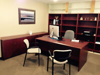 EXECUTIVE CHERRY OFFICE SUITE