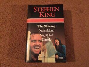 Stephen King's The Shining, Salem's Lot, Night Shift, Carrie