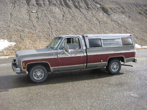 1977 gmc sierra 1500 runs very good pw pl tilt automatic 350