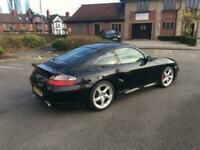 2003 Porsche 911 Turbo 911 996 TURBO AWD MANUAL COUPE,black leather electric mem