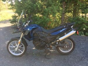 Moto BMW F650GS 2011 (2 cylindres)