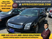 FORD FUSION - APPLY ONLINE @ APPROVEDBYSAM.COM