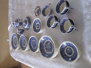 Set de vaisselle Mason's Vista Blue ( 50 ans)