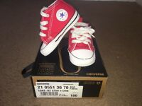 Baby Converse Red