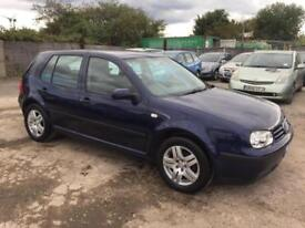 Volkswagen Golf 1.6 2003MY Match Manual Petrol -NEW 12 MONTHS MOT