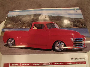 2000 DREAM MACHINES Car 16 Month CALENDAR. Issued by HUCK Fasten Sarnia Sarnia Area image 3