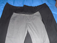 Business clothes dress shirts and pants 38 & 40 XL L extra large