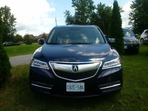 2014 Acura MDX Technology with ext warranty