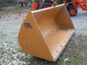 D/S SNOW BUCKET FOR CASE 580SM