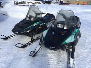Selling 2 Arctic Cat jags