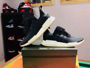 Adidas NMD R1 Black and Gum Size 8