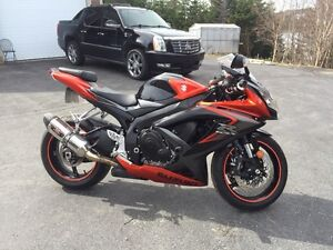 2008 GSX750R Excellent Condition with low kms