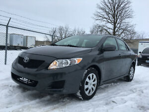 2010 Toyota Corolla- LOW Kilometers