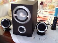 Sony Speakers with Subwoofer