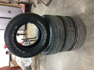 New Good Year tires