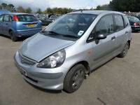 Honda Jazz 1.2i-DSI S DAMAGED REPAIRABLE SALVAGE