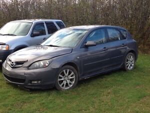2007 Mazda 3 For Parts or Repair
