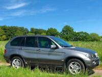 LEFT HAND DRIVE 2004 [04] BMW X5 4.4 SPORT V8 GREY PETROL AUTO LHD UK REG