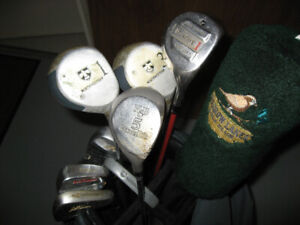 Ladies Golf Clubs and Cart