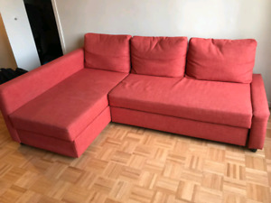 Ikea FRIHETEN couch sofa bed with storage