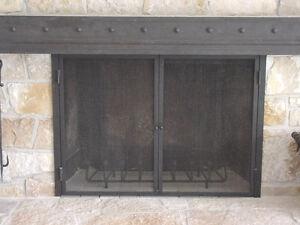 Custom Fireplace Doors, Screens, Grates, Mantel & Tools Kingston Kingston Area image 5