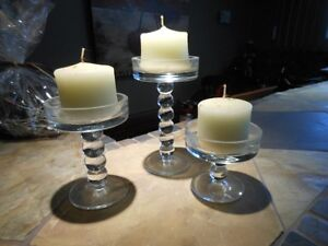 Candle Sticks Set of 3