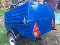 Small box trailer 4' 3' 2'