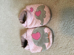 Baby Shoes/Slippers.  Size 18-24 months.