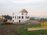 Specializing in ICF, flat concrete and excavations