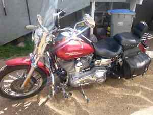 2004 Harley and trailer