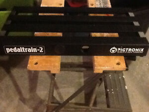Pedaltrain 2 - pedalboard with soft case