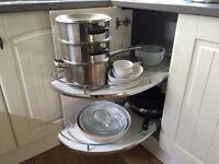 **REDUCED** Kitchen corner unit shelves. BRAND NEW STILL BOXED.** retails £250**