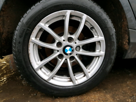 Bmw 1 series 16 inch alloy wheel tyre rim silver