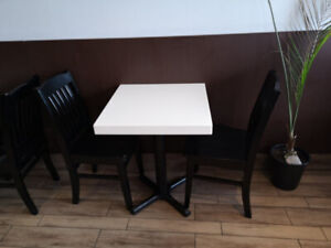 Restaurant furniture - tables (excellent and clean condition)