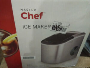New unopened Master Chef ice maker