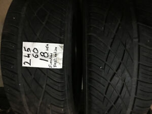 FIRESTONE TIRES (2)  245-60R18