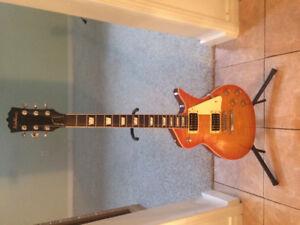 Paul Stanley 7000 Washburn electric guitar $250
