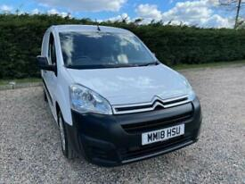 2018 Citroen Berlingo 1.6 BlueHDi 850 Enterprise L1 5dr Panel Van Diesel Manual