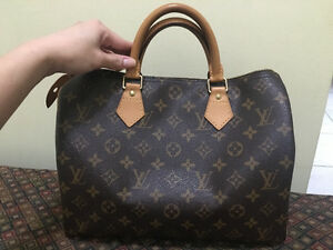 Authentic Louis Vuitton Speedy 30 Monogram with receipt